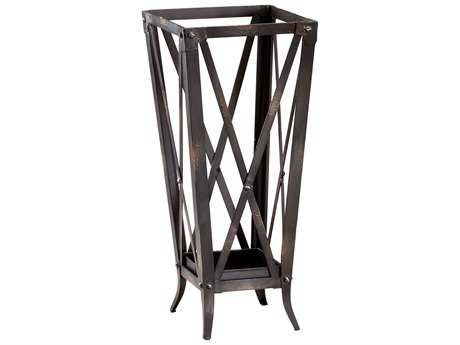 Cyan Design Hacienda Raw Steel Umbrella Stand