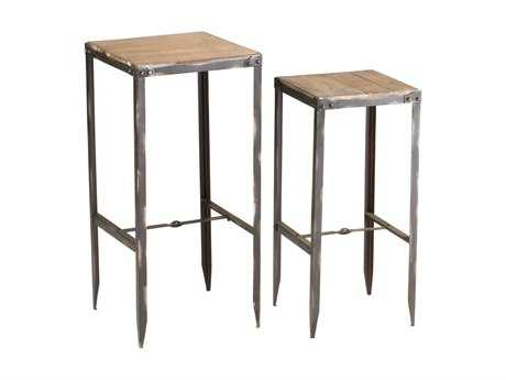 Cyan Design 14.25 Square Camelback Nesting Table