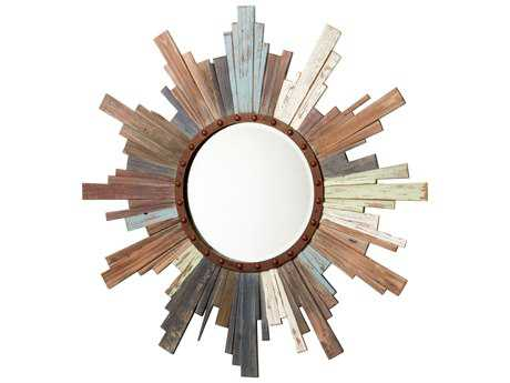Cyan Design Davenport 40 x 40 Colored Wall Mirror