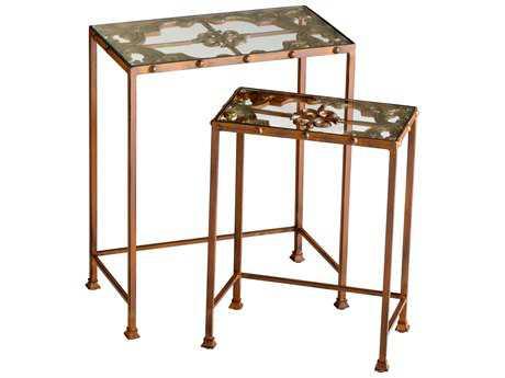 Cyan Design 19.5 x 11 Rectangular Gunnison Nesting Table