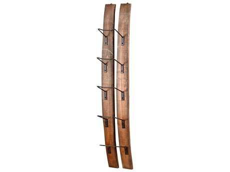 Cyan Design Fresno Rustic Sm Fresno Wall Wine Holder