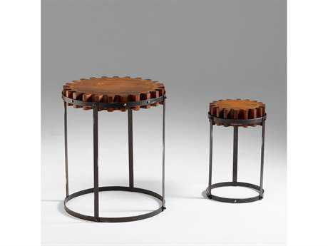 Cyan Design 24 Round Gear Table Set