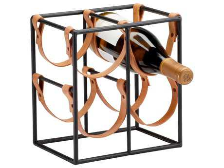 Cyan Design Brighton Raw Steel Wine Rack