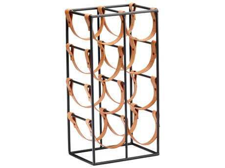 cyan design brighton raw steel wine rack - Wine Racks For Sale