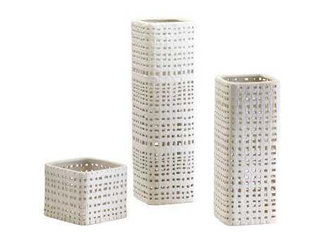 Cyan Design Cordova White & Cream Glaze Vase