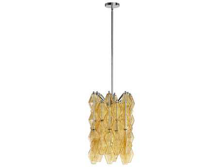 Cyan Design Boho Amber Four-Light 13'' Wide Chandelier