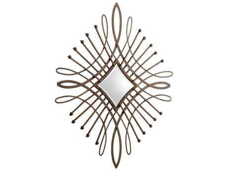 Cyan Design Bloem 54 x 65 Byzantine Oxide Wall Mirror