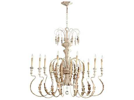 Cyan Design Motivo Persian White Ten-Light 43'' Wide Chandelier