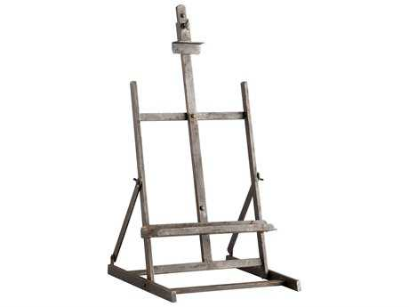 Cyan Design Laramie Raw Steel Easel Stand Rack