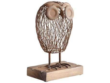Cyan Design Wisely Owl Sculpture