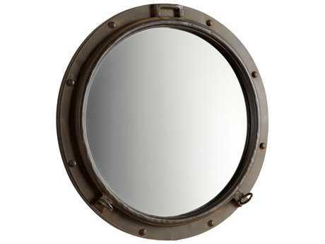 Cyan Design Porto 24 x 24 Rustic Bronze Wall Mirror