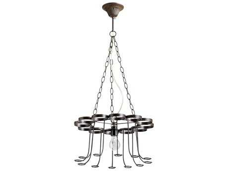 Cyan Design Winey Bronze Mini 17'' Wide Chandelier