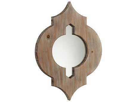 Cyan Design Turk 13 x 18 Washed Oak Wall Mirror