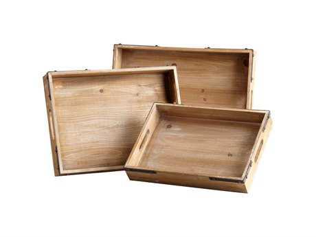 Cyan Design Staton Washed Oak Serving Tray