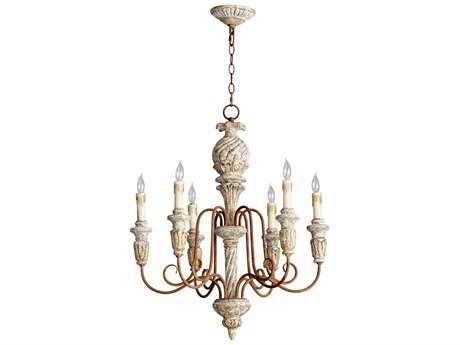 Cyan Design Bateau Golden Roxbury Six-Light 25'' Wide Chandelier