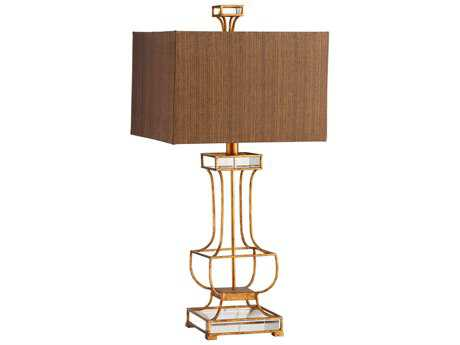 Cyan Design Pinkston Gold Leaf Table Lamp