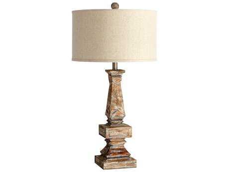 Cyan Design Tashi Parsons White Table Lamp