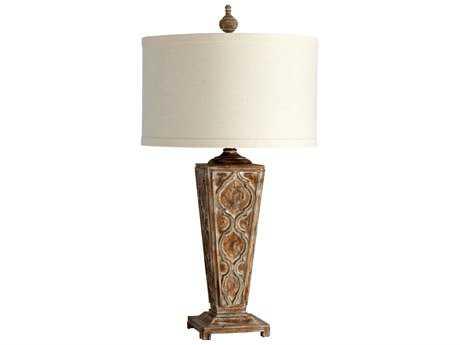 Cyan Design Nadja Limed Gracewood Table Lamp