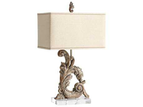Cyan Design Posy Limed Gracewood Table Lamp