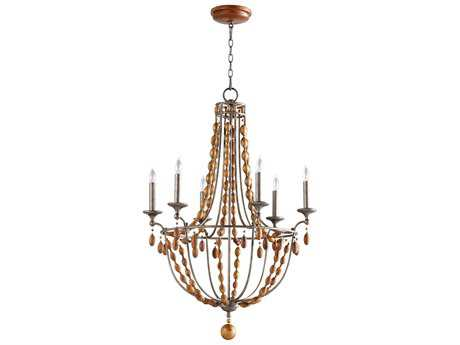 Cyan Design Middleton Canyon Bronze Six-Light 28'' Wide Chandelier