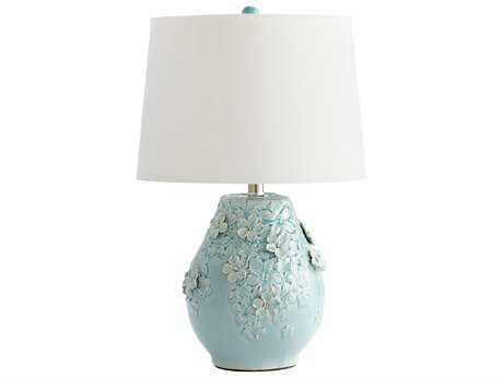 Cyan Design Eire Sky Blue Glaze Table Lamp