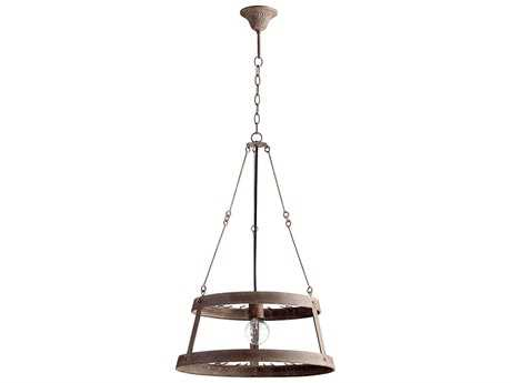 Cyan Design Double Winey Rustic 19'' Wide Chandelier