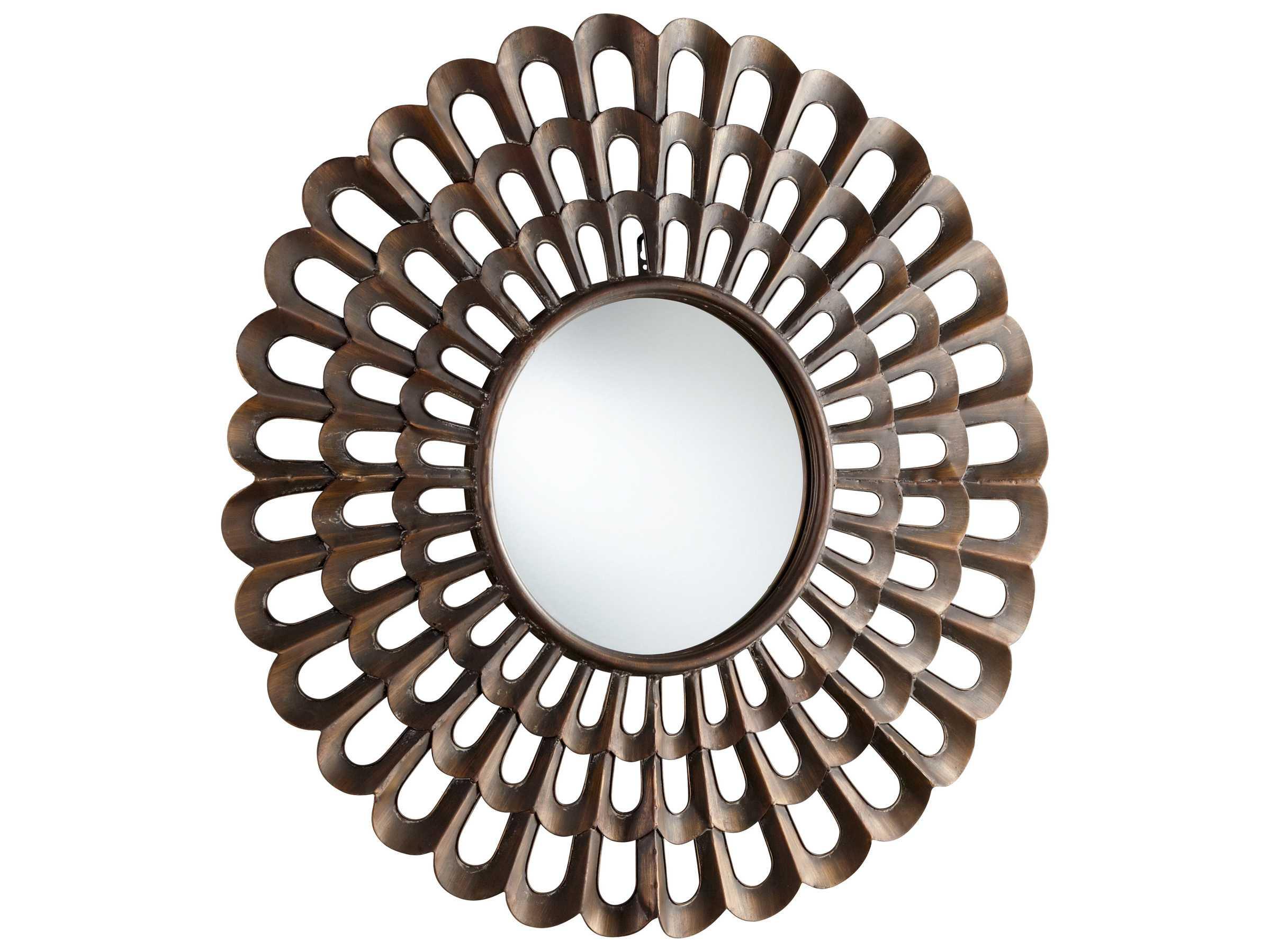 Bronze Wall Mirror: Cyan Design Agoura 40 X 40 Bronze Wall Mirror