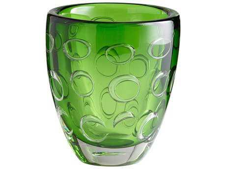 Cyan Design Emerald Green Brin Vase