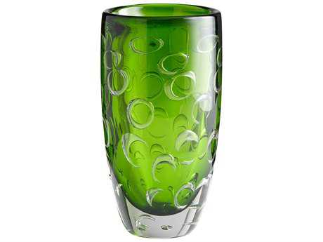Cyan Design Emerald Green Brin Vase