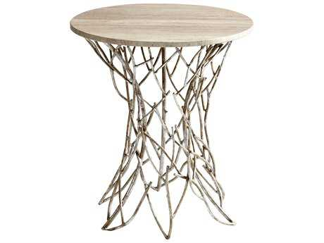 Cyan Design 22 Round Twigs End Table