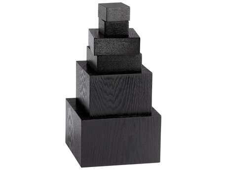 Cyan Design Black Art Pedestals