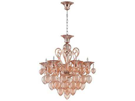 Cyan Design Blush Six-Light 30'' Wide Chandelier