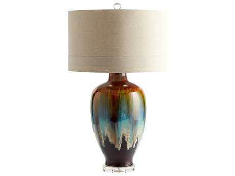 Cyan Design Hayes Brown Table Lamp