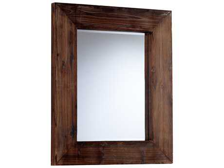 Cyan Design Ralston 28 x 35 Walnut Wall Mirror