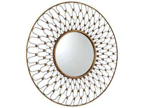 Cyan Design Cordova 36 x 36 Gold Wall Mirror