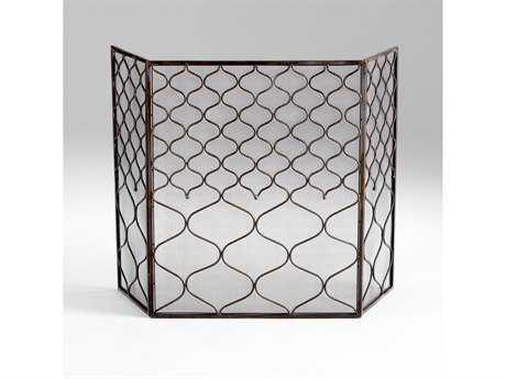 Cyan Design Blakewell Bronze Fireplace Screen