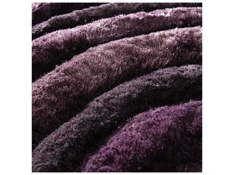 Cyan Design Girare Arte Viola Rectangular Luxor Purple Area Rug