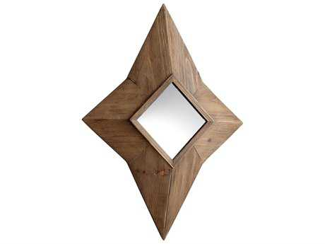 Cyan Design Desert 26 x 33 Natural Wall Mirror