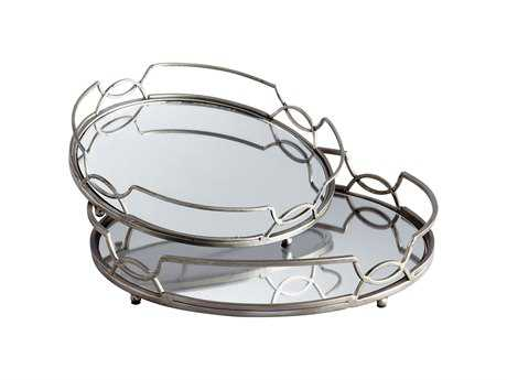 Cyan Design Stainless Steel Lady Anne Serving Tray