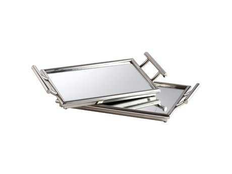 Cyan Design Stainles Steel Serving Tray