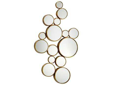 Cyan Design Bubbles 24 x 41 Gold Wall Mirror