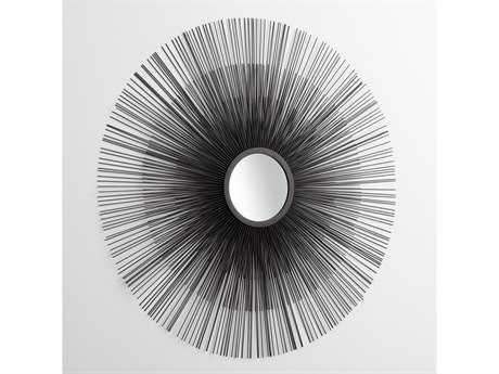Cyan Design Double Solar Flare 37 x 37 Graphite Wall Mirror