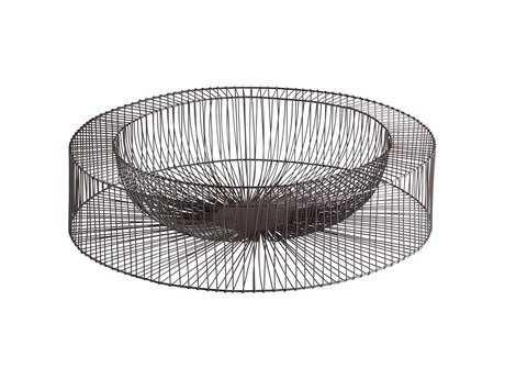 Cyan Design Wire Wheel Graphite Serving Tray