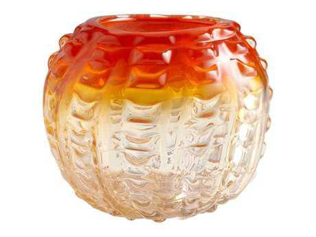 Cyan Design Orange Fire Pod Vase