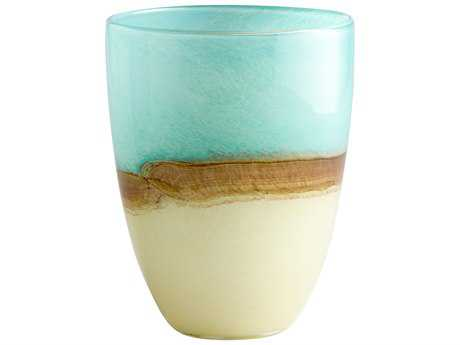 Cyan Design Turquoise Blue Vase