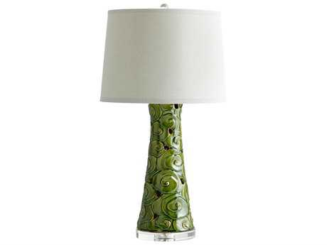 Cyan Design Eva Emerald Glaze Table Lamp