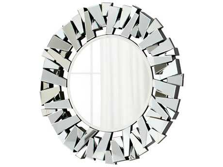 Cyan Design Circle Cityscape 47 x 47 Wall Mirror