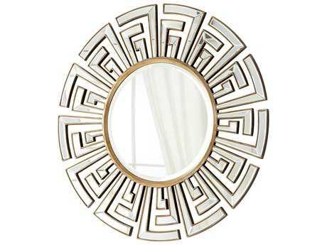 Cyan Design Cleopatra 47 x 47 Gold Wall Mirror