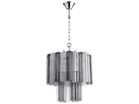 Cyan Design Night and Day Smoked Four-Light 19'' Wide Mini Chandelier