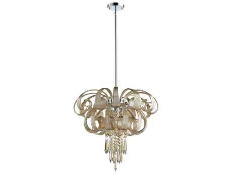 Cyan Design Cindy Lou Cognac Nine-Light 22'' Wide Chandelier